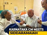 Video : BS Yediyurappa Visits Congress Leader Siddaramaiah At Bengaluru Hospital