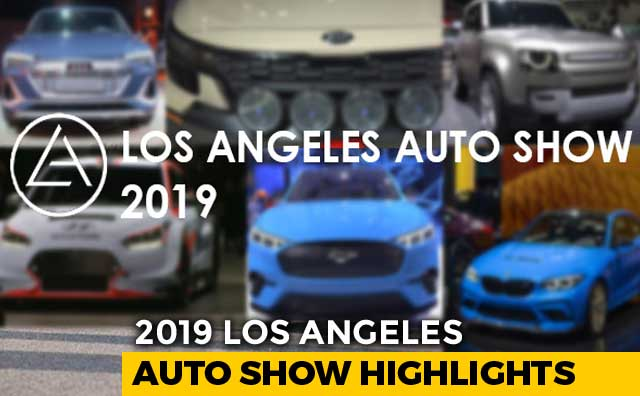 Video : 2019 Los Angeles Auto Show