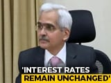 Video : RBI Keeps Rate Unchanged In Unexpected Move, Sharply Cuts Growth Target
