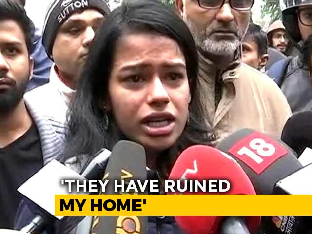 """Video : """"I'm Not Even Muslim But Am At The Frontline"""": Jamia Student Breaks Down"""