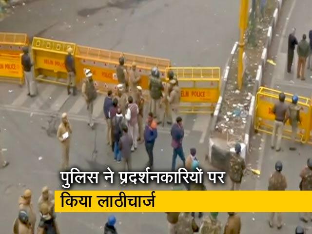 Video : ग्राउंड रिपोर्ट: प्रदर्शनकारियों ने पुलिस चौकी में लगाई आग