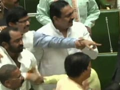 Shiv Sena And BJP MLAs Almost Come To Blows In Maharashtra Assembly