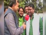 Video : JMM Supporters Cheer For Hemant Soren As Congress-JMM Lead In Jharkhand