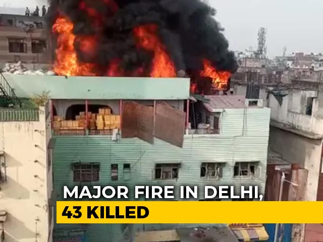Video : After Delhi Fire Tragedy, A Desperate Search To Find Friends, Family