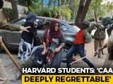 "Video : ""Violent Suppression"": Harvard Students Back Jamia, AMU Protests"
