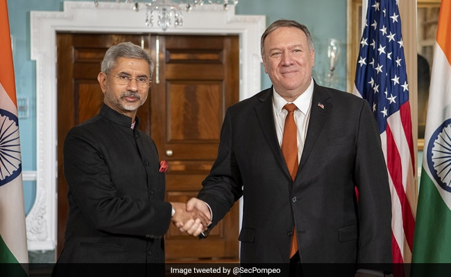 S Jaishankar, Mike Pompeo Talk Covid, Indo-Pacific Strategy Over Phone