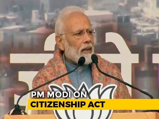 "Video : ""Stand Up And Respect Parliament,"" Says PM Amid Citizenship Act Protests"