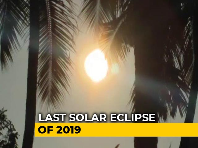 Video: 'Ring Of Fire': Last Solar Eclipse Of Decade Visible From Parts Of India