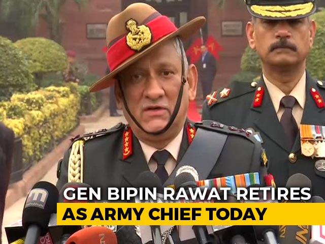 """Video : """"Will Plan Strategy"""": General Bipin Rawat On Chief Of Defence Staff Role"""