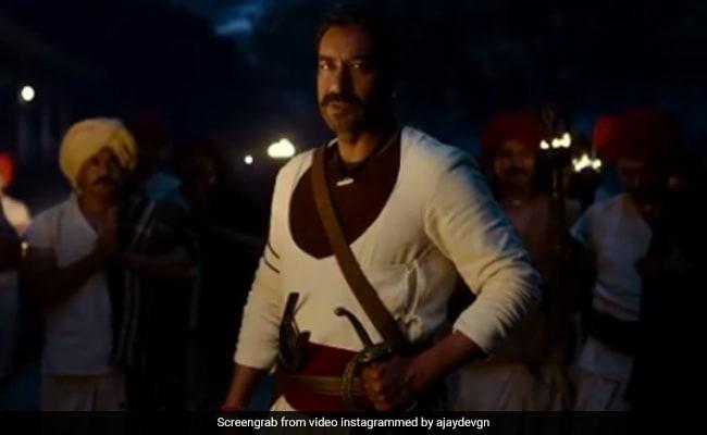 'तान्हाजी' के पहले गाने 'शंकरा रे शंकरा' का टीजर हुआ रिलीज, दमदार अंदाज में दिखे अजय देवगन