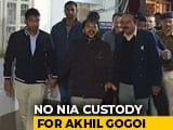 Video : Akhil Gogoi Sent To Judicial Custody , NIA Plea Rejected