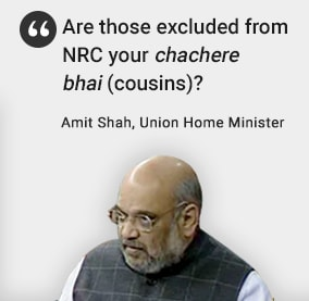 'Your Cousins?': Amit Shah Attacks Rahul Gandhi Over Illegal Immigrants
