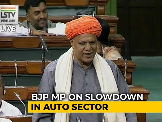 """Video : """"If Auto Sector Is In Crisis, Why Traffic Jams?"""": BJP MP's Bizarre Claim"""