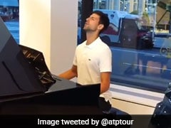 "Novak Djokovic Fools Fans With ""We Are The Champions"" Piano Performance. Watch Video"