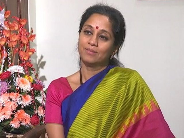 Video : Supriya Sule's Reaction To Supposed Offer From PM Modi To Her Father