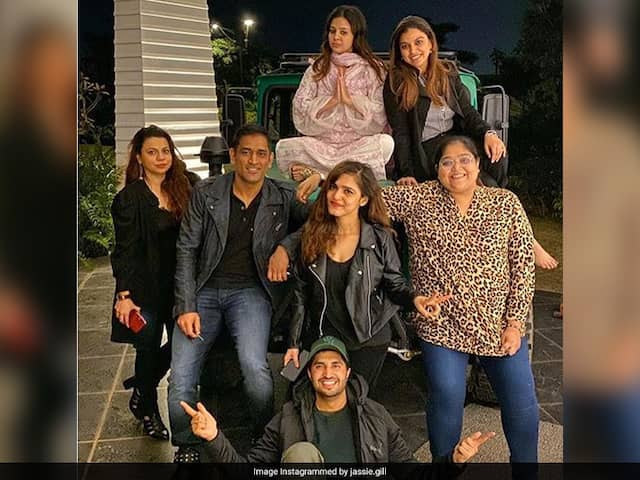"""MS Dhoni, Sakshi Host An """"Unforgettable Trip"""" For Jassie Gill"""