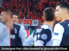 Cristiano Ronaldo Loses His Cool As Pitch Invader Tries To Take Selfie. Watch Video