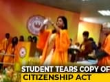 Video : Watch: Student's Shock Protest While Taking Degree At Jadavpur University