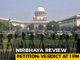Video : Nirbhaya Case: Supreme Court Verdict On Convict's Review Petition At 1 pm