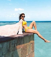 More Stunning Pics From Nushrat Bharucha's Maldives Vacation. Seen Yet?