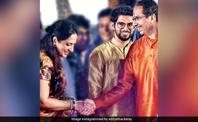 Aaditya Thackeray's 'Surreal' Insta Pic From Father's Oath Event