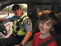 12-Year-Old Boy Drives Truck With Dog To Escape Australian Bushfire