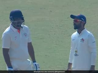 Yusuf Pathan Refuses To Walk Off After Umpire Rules Him Out