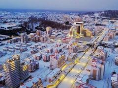 "North Korea's Kim Jong Un Unveils Newly-Reconstructed ""Utopia"" Town"