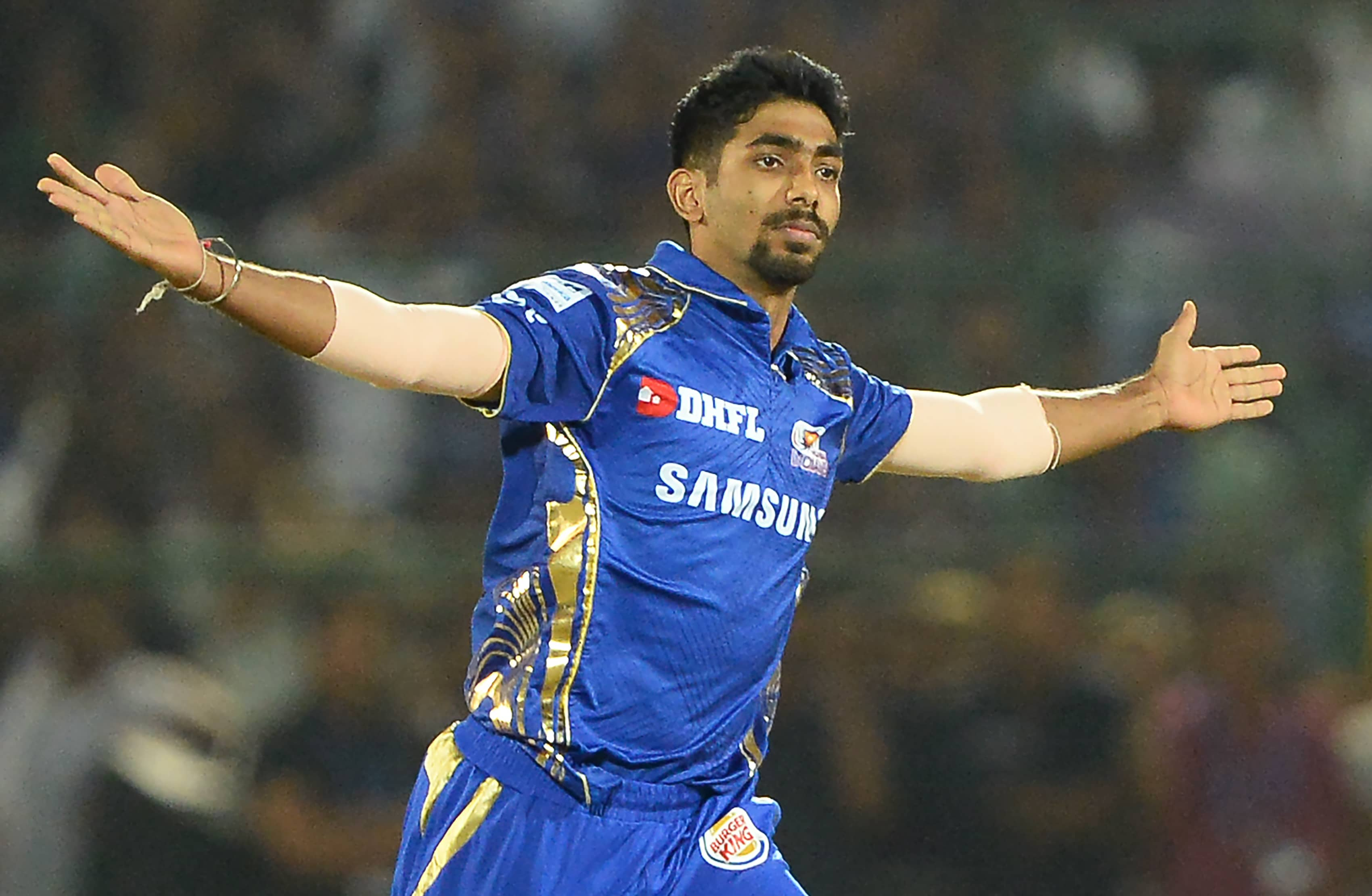 """""""Youll Have To Face Me In Nets"""": Jasprit Bumrah Welcomes Chris Lynn To Mumbai Indians"""