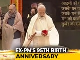 Video : President, PM Pay Tribute To Vajpayee On His 95th Birth Anniversary