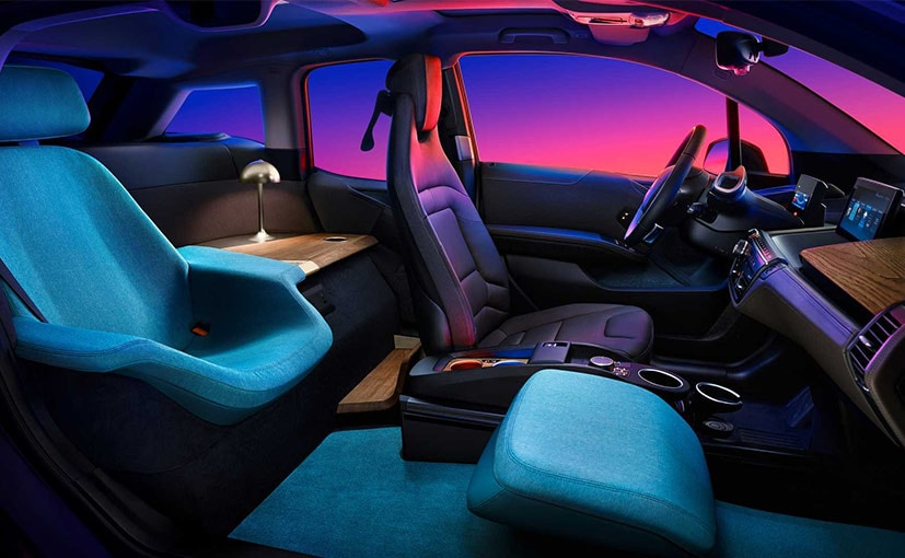 BMW completely transformed a standard i3 so that its interior now has the relaxed feel of a hotel