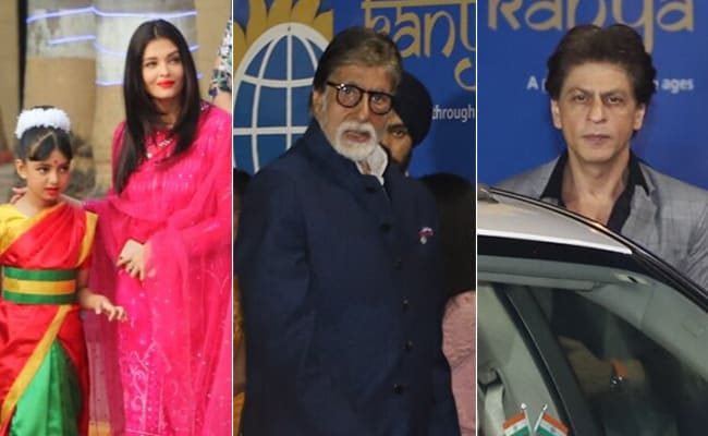 Aishwarya Rai Bachchan's Daughter Aaradhya Performs In A Saree On Annual Day, Amitabh Bachchan, Shah Rukh Khan, Hrithik Roshan And Others Attend
