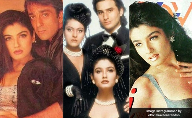 These Nineties' Throwback Pics From Raveena Tandon's Collection Will Make You ROFL