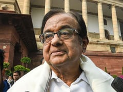 "Congress's P Chidambaram Slams Centre For ""Incompetent Economic Mismanagement"""