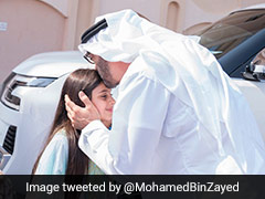 Abu Dhabi Crown Prince Visits Girl Who Couldn't Shake His Hand During Event