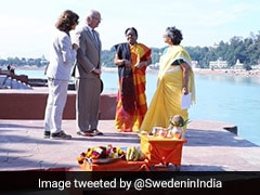 Sweden King, Queen Meet Green Activist, Attend Ganga Rituals In Rishikesh