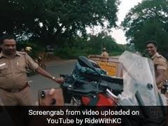 इस शानदार बाइक के पुलिस अधिकारी भी हुए दीवाने, किया कुछ ऐसा...देखें Video