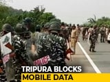 Video : Tripura Blocks Mobile Data, SMS Services Amid Citizenship Bill Agitation