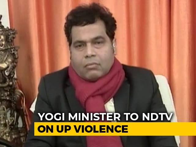"""Video : """"Some Trying To Misrepresent What Yogi Adityanath Said: UP Minister On 'Badla' Remark"""