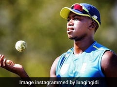 Lungi Ngidi Ruled Out Of Boxing Day Test Against England Due To Hamstring Injury