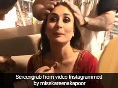 करीना कपूर भाई के रोके के लिए जब एयरपोर्ट पर ही होने लगीं तैयार, देखें Viral Video