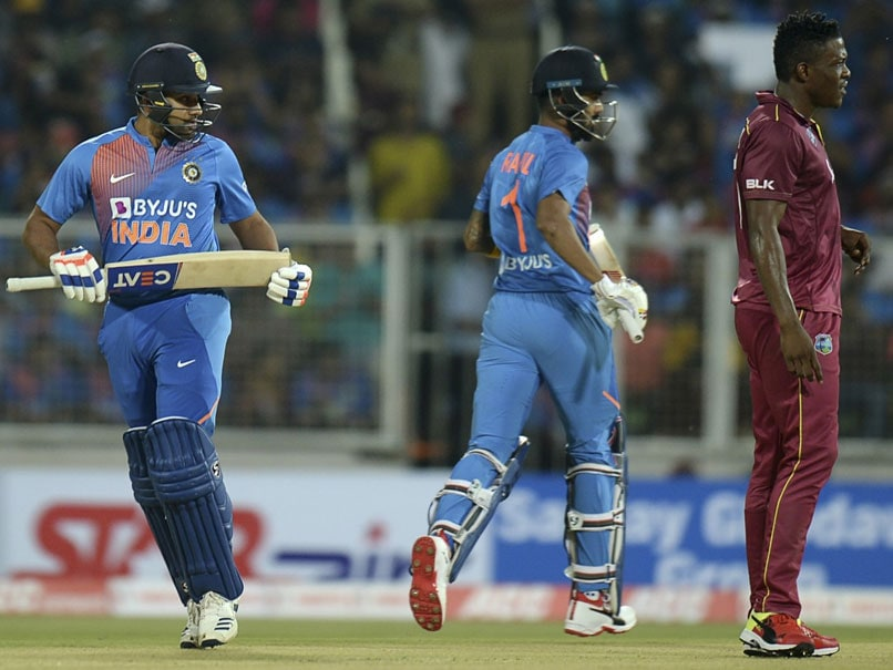 1st ODI Live: Rohit, Rahul Start Cautiously After West Indies Opt To Bowl