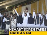 Video : At Hemant Soren's Oath Ceremony In Jharkhand, A Show Of Opposition Unity
