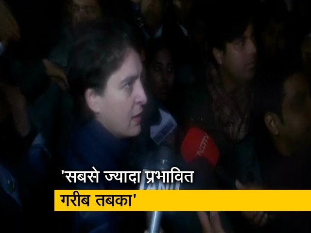Videos : प्रियंका गांधी ने NDTV से कहा- NRC और नागरिकता कानून गरीबों के खिलाफ