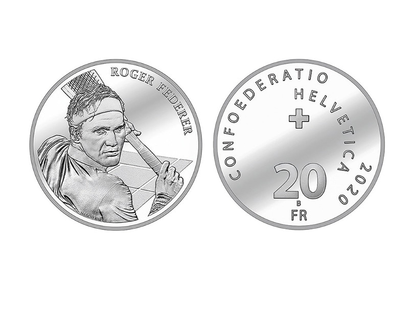 Roger Federer To Have Swiss Coin Minted In His Honour