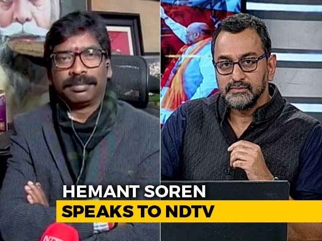 "Video : ""<i>Sher Ka Bachcha Sher</i>"": Hemant Soren's Response To Dynastic Politics"