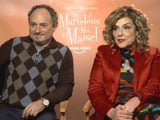 Video : Kevin Pollak And Caroline Aaron Talk About Comedy Series <i>The Marvelous Mrs. Maisel</i>