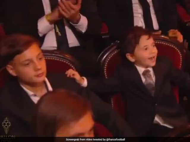 Lionel Messi Wins Record 6th Ballon dOr, Sons Reaction Steals The Show