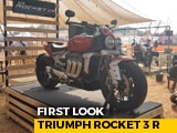 Video : Triumph Rocket 3 R First Look