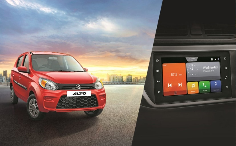 The Maruti Suzuki Alto 800 gets a range-topping VXI+ variant.